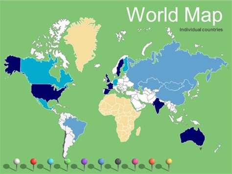 World Maps Vector Editable Updated 2017 Editable World Map Powerpoint