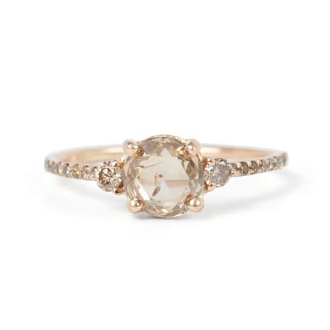 Engagement Rings For by Chagne Solitaire Ring Wedding Engagement