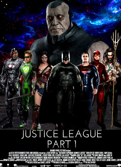 film justice league part 1 justice league part 1 poster by asthonx1 on deviantart