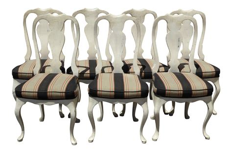 distressed antique white dining chairs vintage country white distressed dining chairs
