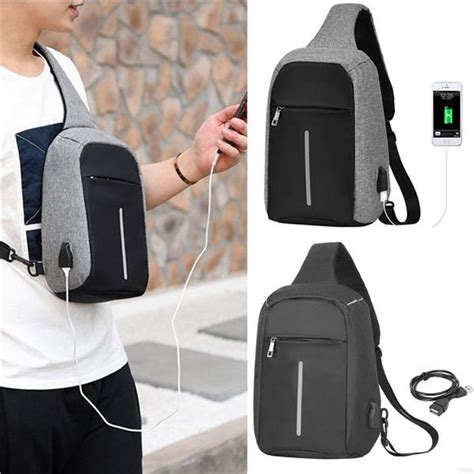 Tas Selempang Anti Maling Anti Air Smart Crossbody Bag Promo anti theft usb charging sling bag end 11 20 2018 12 15 pm