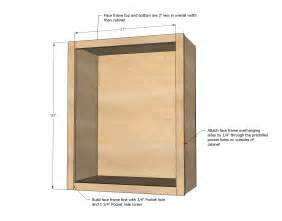 Plans For Building Kitchen Cabinets Building Kitchen Cabinets Plans Next Build Your Face Frame