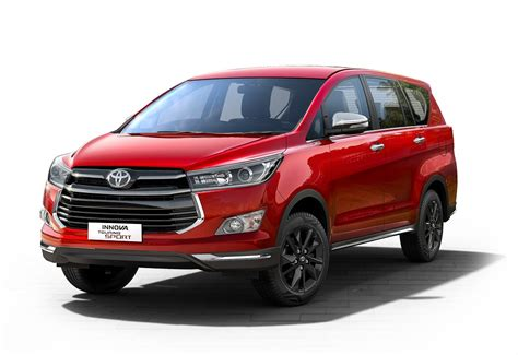 Toyota Avatar Toyota Introduces Innova Touring Sport In A Sporty New