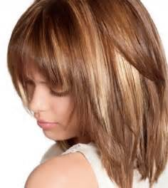 medium color medium length haircuts and colors