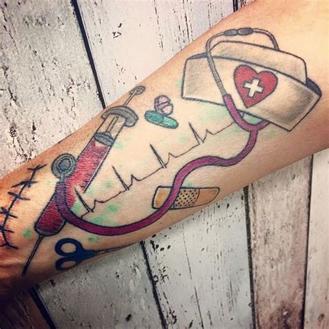 nurse with tattoos best 25 tattoos ideas on ekg