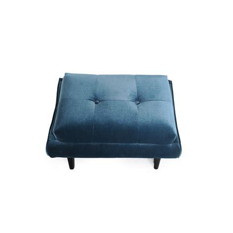 blue ottomans blue velvet ottoman midnight blue velvet marcelle