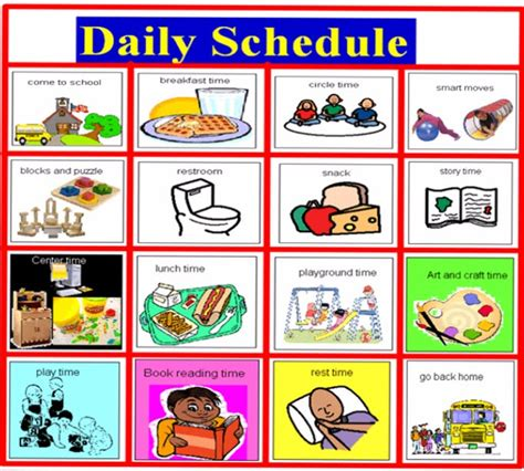 printable daily schedule for day care reveal the befit of scheduling software for your daycare