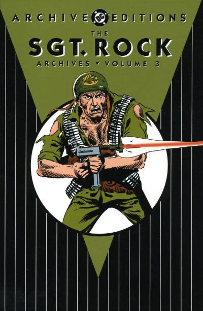 Rock Vol 1 3 Tamat sgt rock archives vol 3 collected dc database fandom powered by wikia