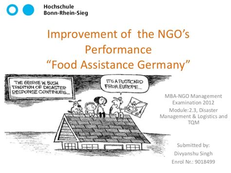 Mba In Ngo Management by Improvement Of The Ngo S Performance