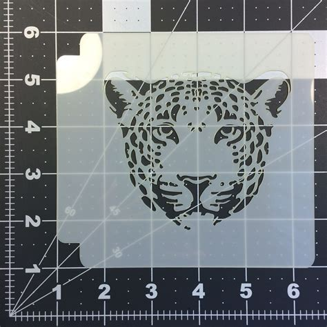 leopard skin pattern stencil large 28 images leopard