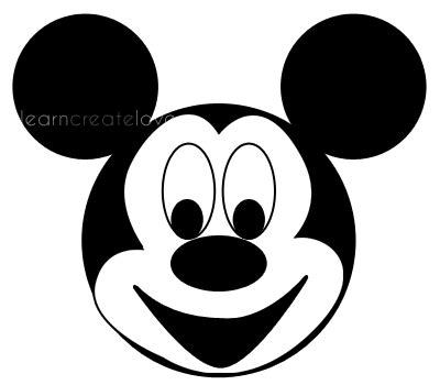 Mickey Mouse Minnie Mouse W3173 A3 2017 Print 3d S Mouse Black