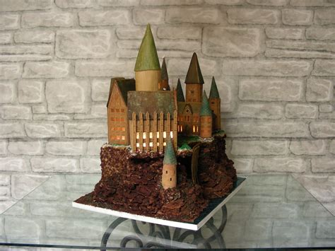 gallery making of the hogwarts gingerbread castle