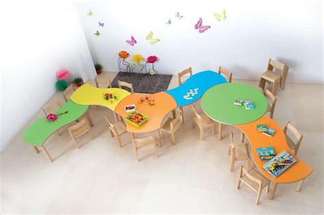 Ecken Block Formen by Modularer Tisch F 252 R Kinder Abgerundete Kanten Und Ecken