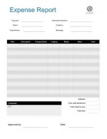 Business Expense Form Template by Expense Report Form Free Expense Report Form Templates