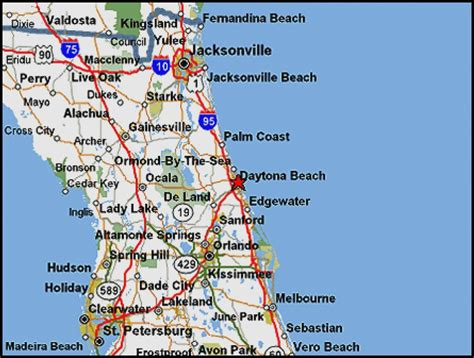 map of florida viera 16 500 sq ft lot in daytona fl oversized lot 34 way