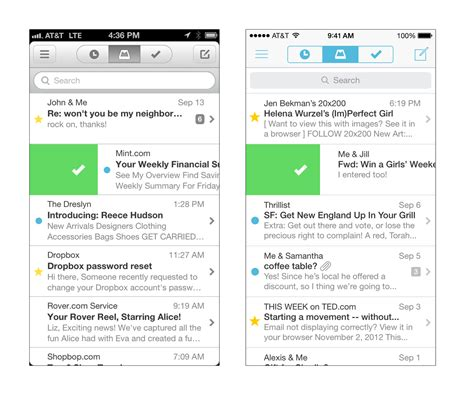 yahoo email won t update on iphone 6 dropbox owned mailbox adds support for yahoo mail and