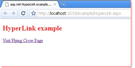imagenes href html how to use hyperlink in asp net