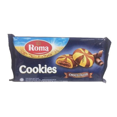 Roma Choco Filling by Roma Cookies Choco Filled Fack Bundle 2