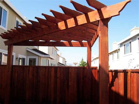 Corner Pergola Design Ideas From Deckrative Designs Corner Pergola Plans