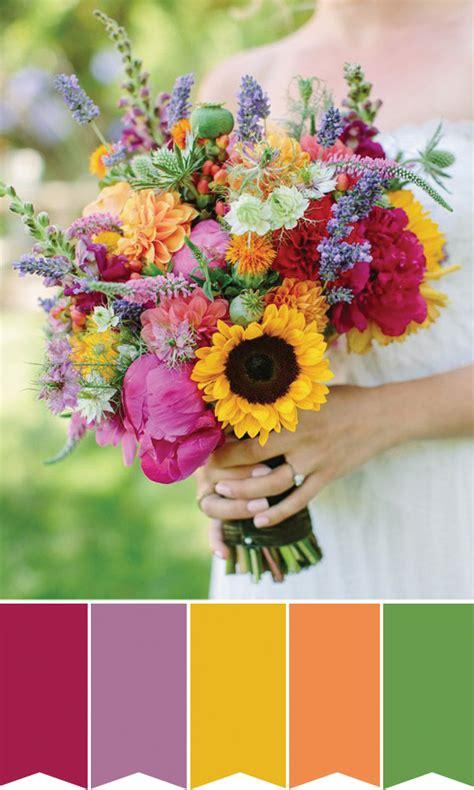 inspiring blooms 6 summer bridal bouquets onefabday