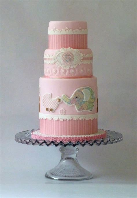 Beautiful Baby Shower Cakes by Beautiful Cakes For Baby Showers Fondant Baby