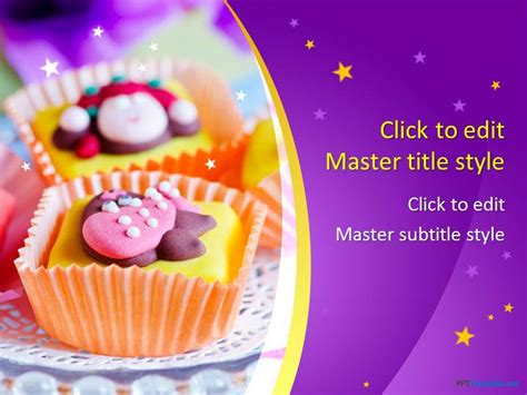 Free Cake PPT Template