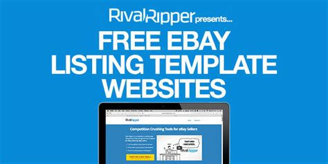 ebay listing template free rival ripper competition crushing tools for ebay sellers
