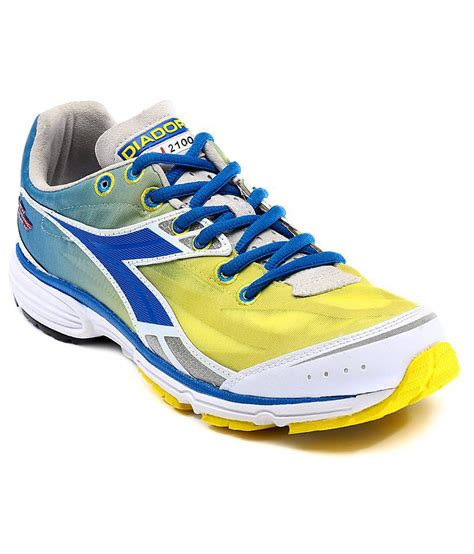 diadora sport shoes diadora yellow sport shoes price in india buy diadora