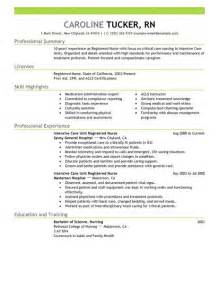 view nursing resumes 2