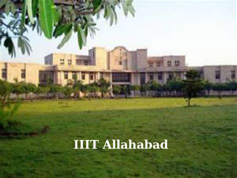 Dual Msw Mba Programs by Iiit Allahabad Extends Mba Ms Clis Application Dates For