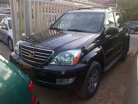 how things work cars 2004 lexus gx spare parts catalogs tokunbo 2004 2005 lexus gx470 suv super clean 4 2m autos nigeria