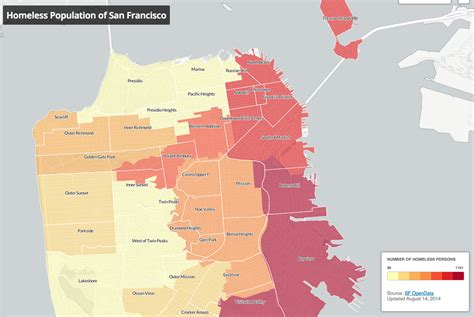 san francisco district map 2015 mapping homelessness and affordable housing in san
