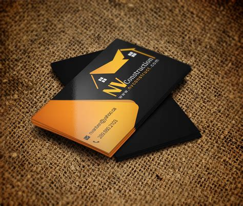 home renovation business needs a logo and business card