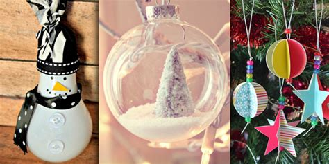 christmas decorations you can make at home 50 beautiful diy christmas ornaments you can make at home