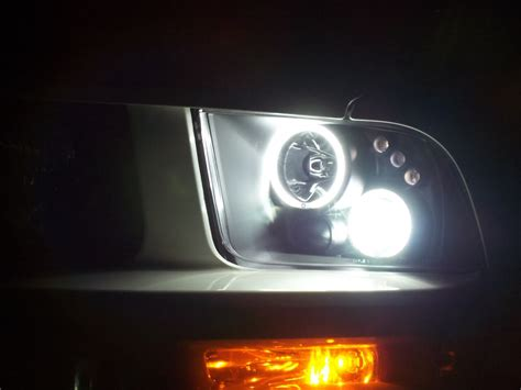 daytime headlight section projector headlights mustangforums com