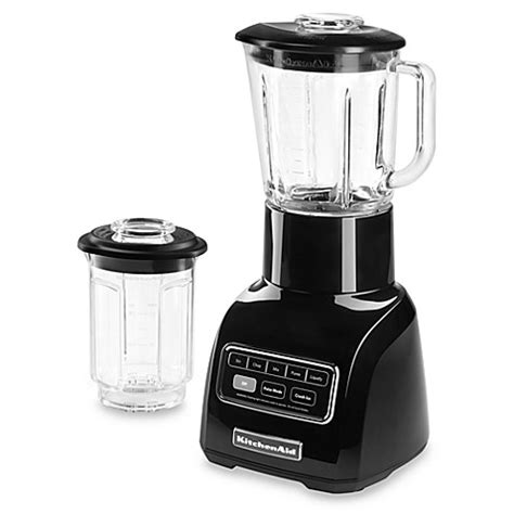 bed bath beyond blender kitchenaid 174 5 speed blender black bed bath beyond