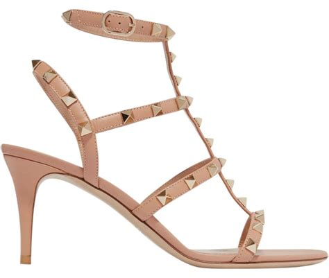 valentino sandals sale valentino brand new rockstud t neutrals sandals on
