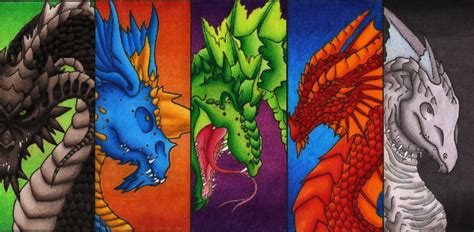 printable dragon bookmarks chromatic dragon bookmarks by sky shifter on deviantart