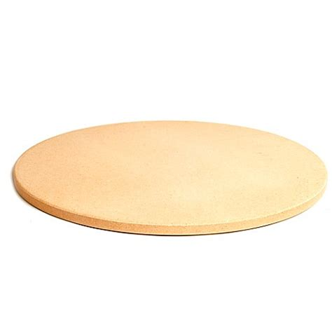 pizza stone bed bath and beyond pizzacraft cordierite 16 5 inch round pizza stone in