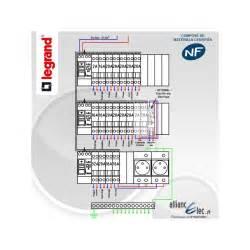 tableau electrique pr 233 cabl 233 legrand surface entre 35 m2 et