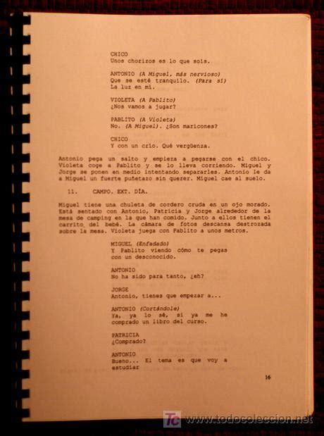 estrategias de guin cinematogrfico guion cinematografico original de la pelicula d comprar en todocoleccion 6681386