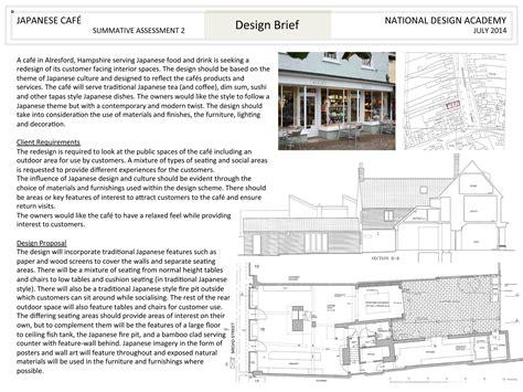 cafe design brief presentation board nda blog