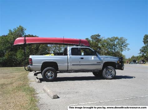 Canoe Transport Ideas   Dodge Diesel   Diesel Truck