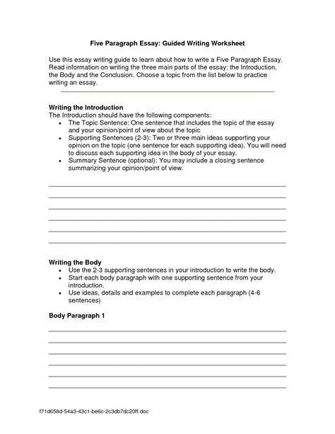 Essay Writing Lessons by Introduction Paragraph To An Essay