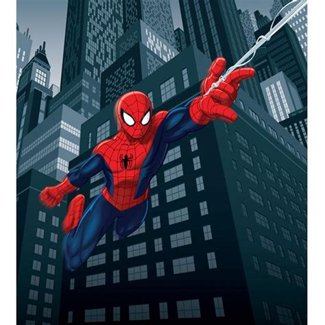 spider man comics character giant wall mural by homewallmurals spiderman giant photo wall mural decor wallpaper 180 x