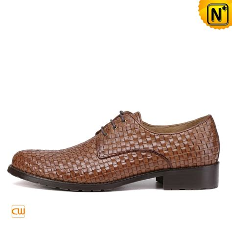 mens dress oxford shoes mens woven leather oxford dress shoes cw762019
