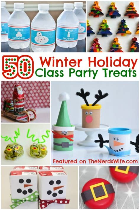 list of food to bring to christmas party 50 winter class treats