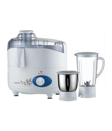 Juicer Quantum 4 In 1 bajaj fresh sip juicer mixer grinder white available at