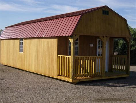 lofted barn cabin  sale shed plans icreatables
