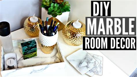 Marble Decor by Diy Marble Room D 233 Cor Inspired Easy Cheap